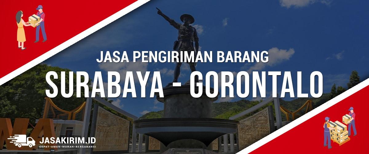 Jasa Ekspedisi Surabaya – Gorontalo