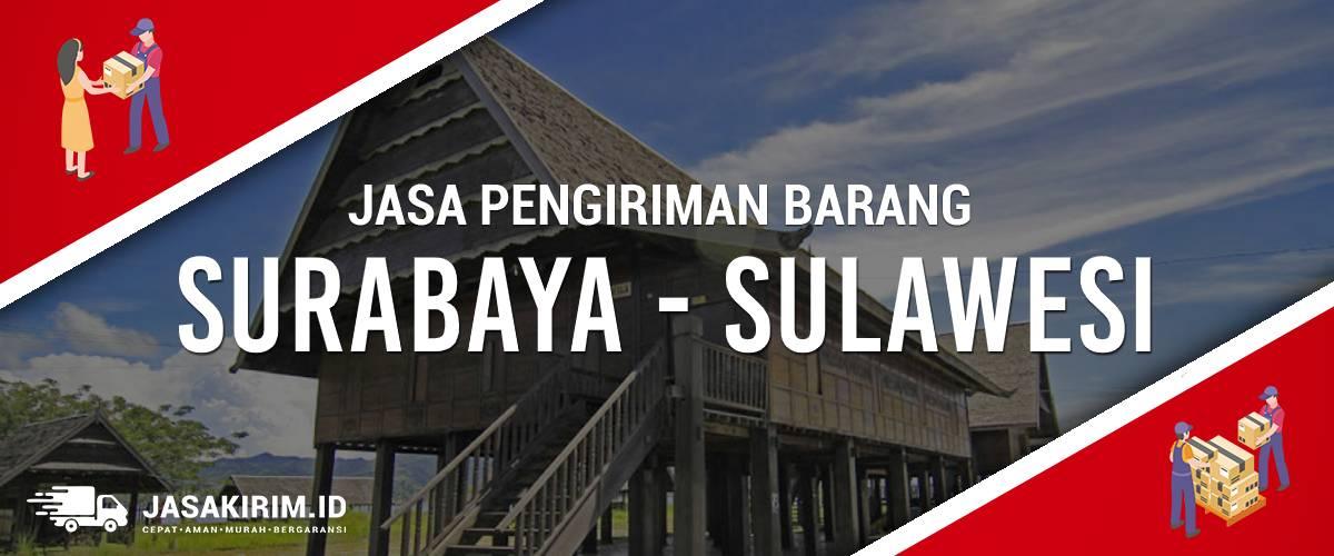 Jasa Ekspedisi Surabaya - Sulawesi