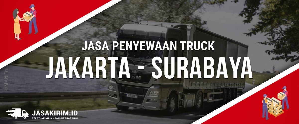sewa truck jakarta surabaya