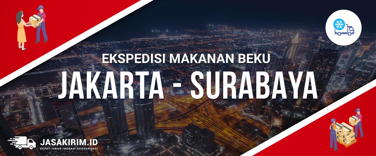 Ekspedisi Makanan Beku Jakarta Surabaya