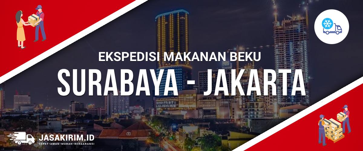 Ekspedisi Makanan Beku Surabaya Jakarta